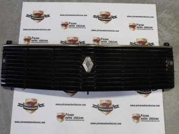 Rejilla delantera Renault 18 sin anagrama Mod.1 (con agujeros brazo limpia faros)