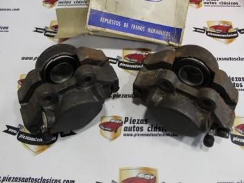 Pareja de Pinzas de freno delanteras Simca 1000, 1200 48mm villar 5553