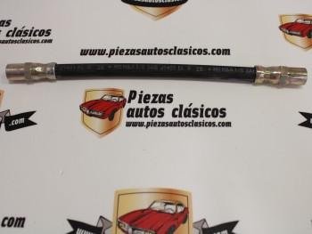 Latiguillo de freno Lada Samara (roscas M10x1,25) largo total 260mm Ref: Villar 6184360