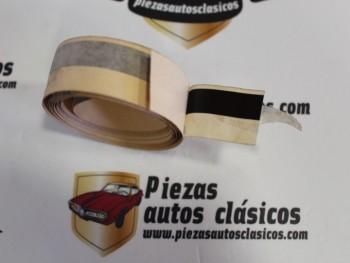 Moldura adhesiva Marrón Oscuro 1,95mtr. Renault 5 Ref: 7702144240