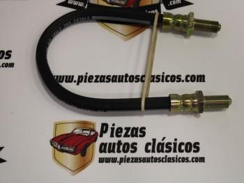 Latiguillo de freno delantero Sava J4 1000 370mm largo Ref: Villar 6184203