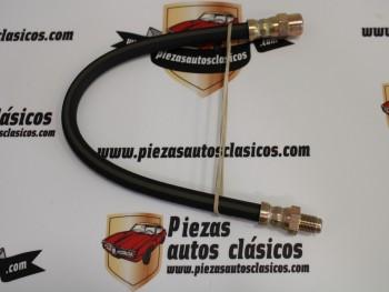 Latiguillo de freno 365mm roscas M10x1 Ref: Villar 6184237