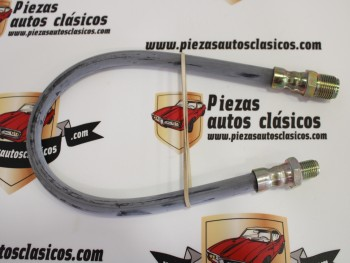 Latiguillo de freno 475mm largo roscas M11x1,25/M16x1,5 Ref: Villar 6184069