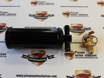 Conjunto Válvula De Expansión + Secador Filtro Deshidratación Aire Acondicionado Dodge