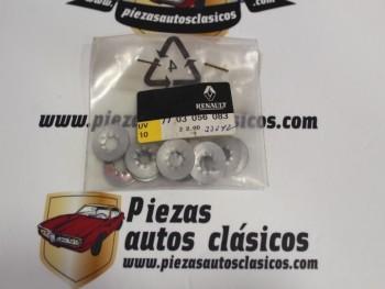 Kit 10 Arandelas Tornillos Sujeción Elevalunas Renault Clio II, Scénic I... Ref: 7703056083