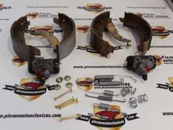 Kit De Frenos Traseros 180x40 22mm Renault 9, 11, Express, Super 5, Peugeot 309.... Ref: Valeo 553624