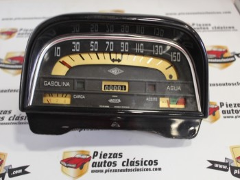Cuadro Cuentakilómetros 150 Km/h Renault Gordini