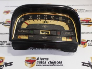 Cuadro Cuentakilómetros 130 Km/h Renault Dauphine y Ondine