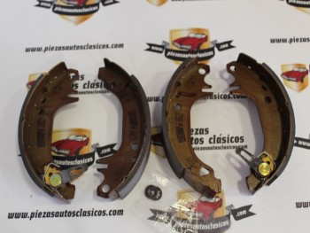 Kit Zapatas Traseras 180x42 Renault Super 5, 9, 11 y Peugeot 309 I/II Ref: GS8321