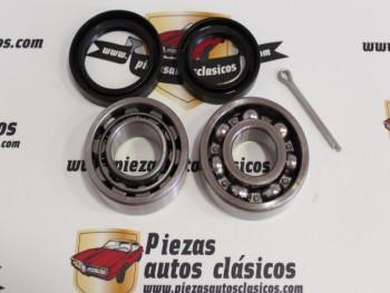 Kit Rodamientos Rueda Trasera Seat 850 y 133