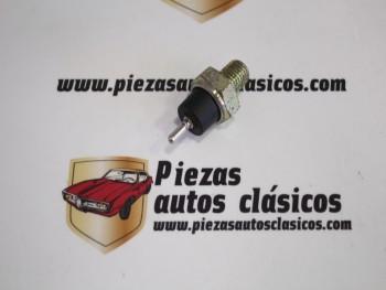 Manocontacto presión de aceite Peugeot 205, 505 Turbo y Simca Horizon, 900, 1000...