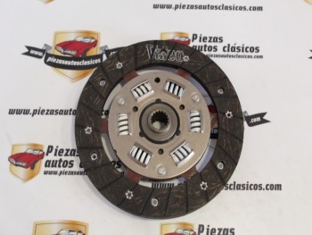 Disco De Embrague 180x17 Seat 127, 128, Ritmo, Lancia Delta, Fiat Uno.. Ref: Valeo 264204