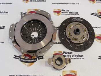 Kit De Embrague 160x20 Seat 127 1ª serie Motor 903cc Ref: Valeo 003332