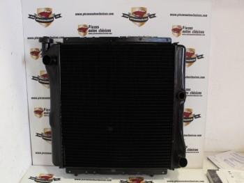 Radiador De Cobre Renault 9 y 11 (1.4 y 1.7 A/A) ( 1.6 D A/A) Ref: 7700763166 / 730013