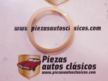 Cerquillo centro de volante beig Renault 4 CV 2ª Serie