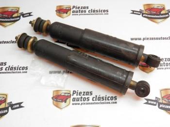 Par amortiguadores traseros Renault 8, casquillo 9mm