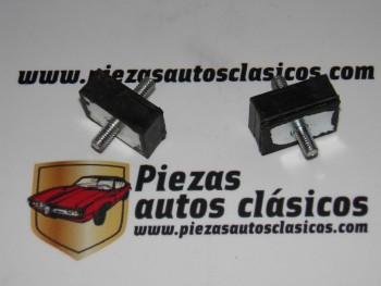 Par de silembloks de mando caja de cambios Renault 8 y 10