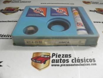 Kit rodamientos rueda delantera Simca 1000 desde 1972-1977