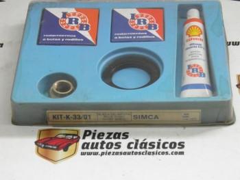 Kit rodamientos rueda delantera Simca 1000 hasta 1972