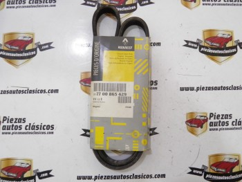 Correa Trapecial Poli (6 canales/longitud mm.1137)  Renault ,  Fiat , Volkswagen  Ref:7700865429