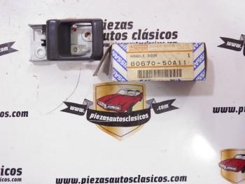 Maneta Delantera Puerta Interior Nissan Sentra 1989, Sunny  Ref:80670-50A11