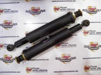 Pareja de amortiguadores traseros LIP Renault 5, 7 y 14