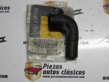 Tubo Manguito Parte Final Radiador Renault 9 ,21 Ref:7700855351/026473