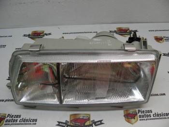 Optica de faro delantero Izquierdo Renault 9 y 11 H4+H1 REF Valeo 061215 / 7701032939