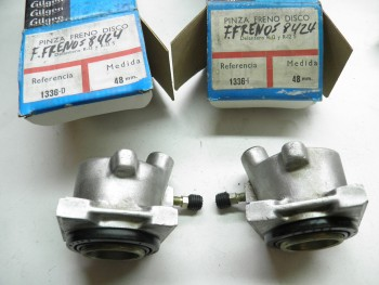 Pareja cilindros Pinzas De Freno Delanteras Renault 12 y 5 Alpine ,Copa ( 48mm)