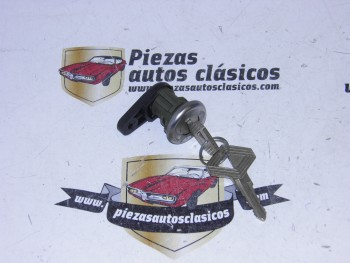 Bombín Cerradura con 2 Llaves Renault Super 5,21,Clio I,Express y Twingo I Ref:7701349791