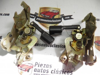 Pareja Cerradura Trasera Renault 5 y 7 (5 puertas)