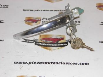 Maneta con cerradura (2 llaves) Renault Dauphine
