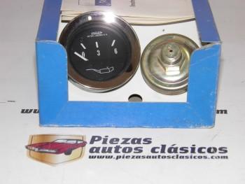 Conjunto Manómetro (presión de aceite) Renault 4,5,6,7,8,9,11,12 y 19 y Citroën GS Ref:JAEGER9518