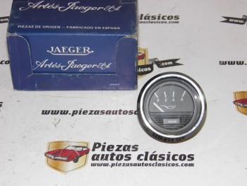 Reloj Presión De Aceite JAEGER Universal 12V Cromado y Negro