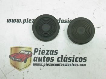 Par de Gomas Cubre Pedales Freno y Embrague Renault 4/4, Gordini...
