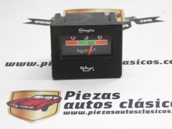 Reloj Presión de Aceite Veglia rectangular Renault 5, 7, 9 y 11
