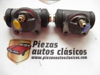 Pareja bombines de freno traseros Renault 12 y 17 Ref: 7701024261 / 7701024262