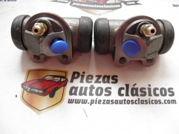 Pareja Bombines De Freno Traseros Renault 12 y 17 Ref: 7701365375 / 7701365376