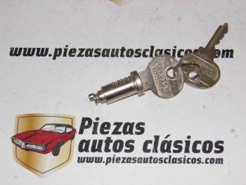 Bombillo De Puerta Con 2 Llaves Renault 4CV y Dauphine