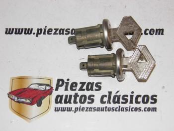 Juego De 2 Bombillos De Puerta Con Llave Renault 21 Anterior Al 90