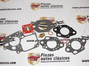 Kit completo carburación Solex 32 SEIA Renault 6,5 y 7