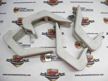 Kit Completo 2 Protectores de  Parachoques Traseros en Gris   Chysler 150