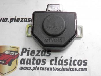Sensor de Acelerador Renault Súper 5, Fuego, 18, 19, 21, 25, Espace, Master, Trafic REF 7700680341/0280120301