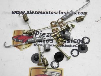 Juego de Muelles y Mordazas para tambor de 180mm. Renault Super 5, 9, 11, 19 I/II, 21, Clio I REF 7701202347