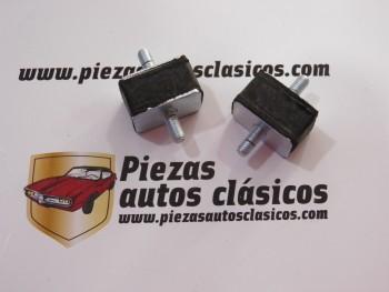 Par de silemblock palanca de cambios Renault 12, 18 y 5 Alpine