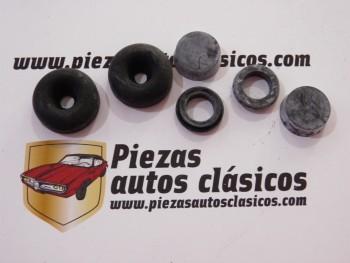 Juego reparación bombín de freno delantero Renault 4, 4CV y Gordini o trasero R 8 y 10 ( 22,2mm ) Ref: 7701201680