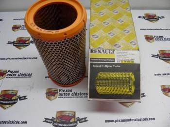 Filtro de aire Renault 5 GT Turbo Ref: 7701031518 / 7701034934