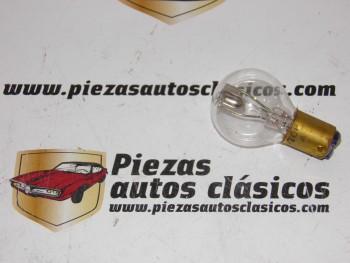 Bombilla Doble Filamento 12V-12/12W  Ampolla Pera 33 mm