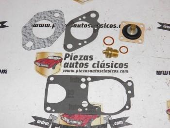 Kit carburador Solex 32 DIS Renault 5, 6, 7, 8, 10 y 12