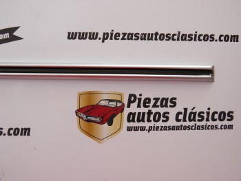 Moldura puerta trasera Renault 8 2ª serie